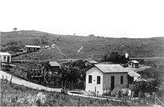 Década de 50 - Primeira agência dos Correios no bairro de Itaquera.