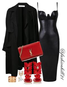 """❤️❤️"" by fashionkill21 ❤ liked on Polyvore featuring A.L.C., Giuseppe Zanotti, Allurez, Hermès, Yves Saint Laurent, women's clothing, women, female, woman and misses"