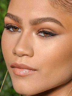 zendaya zendaya makeup make-up red carpet celebrity celebs celeb celebrities cel… - Makeup Looks Celebrity Wedding Makeup For Brown Eyes, Natural Wedding Makeup, Bridal Makeup, Natural Makeup, Makeup Trends, Makeup Inspo, Makeup Inspiration, Makeup Tips, Make Up Looks
