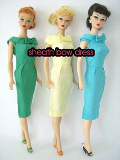 Barbie VINTAGE collection pdf sewing pattern by vintagelovesyou, $4.00