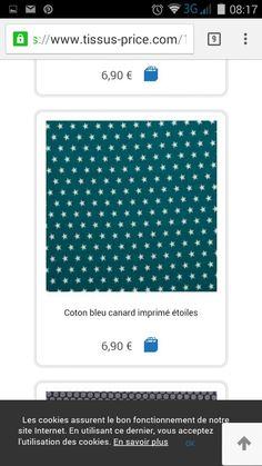 Tissu price