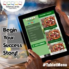 Use Tablet Technology to Achieve Success. Know more here: https://www.imenucards.com  #imenu #tabletmenu #digitalmenu #success