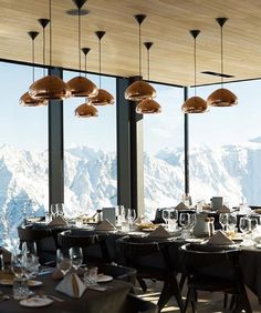 Ice restaurant | Sölden, Austria #restaurant #restaurants @nikolai.issaev loves mountains also @gezainzurich