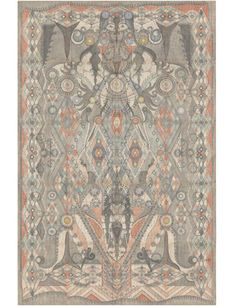 Intricate graphite illustration created on delicate sheets of antique ledger paper.  Louis Despont