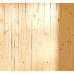 Lowes: For the ceiling: EverTrue x V-Groove Pine Wood Wall Panel pkg plus extra for just in case. Pine Walls, Wood Panel Walls, Cement Walls, Bathroom Wall Panels, Lowes Bathroom, Bathroom Closet, Bathroom Ideas, Bathrooms, Beadboard Wainscoting