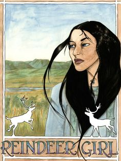 """REINDEER GIRL by Niko Silvester - The Herder people say, """"Magic is for magic people."""" So when Maring's brother Seri gets himself kidnapped by a group of shape-shifting fox-Folk, it's up to her--a shapechanger herself--to get him back... Fantasy"""