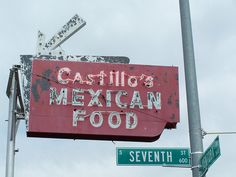 Fresno Neon Signs -  Castillo's Mexican Food by Tom Spaulding, via Flickr