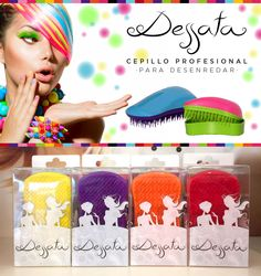 Dessata Detangling Hair Brush - Choose your colour! Detangling Hair Brush, Beautiful Hair Color, Diy Tutorial, Crochet Hats, Hair Beauty, Colours, Hair Colour, Brushes, Trends
