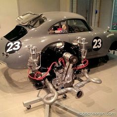 porsche 356 — engine out doyoulikevintage: Porsche