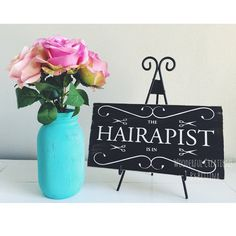 Rustic Wooden Signs Hairstylist Hair Stylist The by wcbybettina