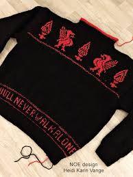 Bilderesultater for liverpool genser oppskrift Liverpool, Knitting Machine, Design