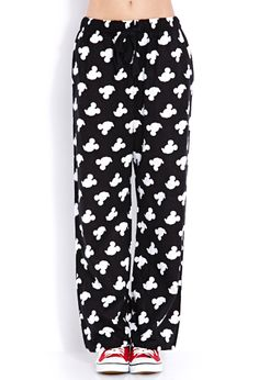 Mickey Parade PJ Pants | FOREVER21 It's all about Mickey Mouse #ForeverHoliday #WishPinWin