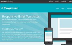 Businesses need to design their emails and newsletters for all devices. These responsive email templates can help.