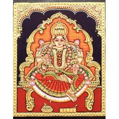 Religious Text, Tanjore Painting, Painting Gallery, Lord Krishna, Art Online, Ancient Art, Indian Art, Deities, Art Forms