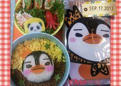 Twitter from @mayqoo0116 おはよ!!(^^)/ 今日は皇帝ペンギンの #お弁当 ~☆ 似てない…( ̄▽ ̄;) #obento #obentoart