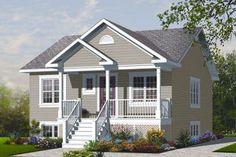 Front Elevation Plan #23-2200 - Houseplans.com