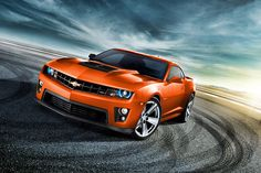 2012 Camaro ZL1 Orange,