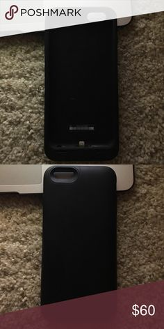 iPhone 6s Plus Mophie charging phone case Used twice like-new condition will come with the charger Other