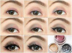 Sweet purple asian eye makeup By iloveaday
