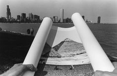 Chicago by Kenneth Josephson Conceptual Photography, Art Photography, Frame Within A Frame, Ap Art, Chicago, Fine Art, Black And White, Gallery, Image