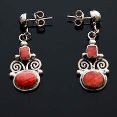 Zilveren oorstekers Inca.Uniek design! 19,90 € gratis verzending in NL  http://www.dczilverjuwelier.nl/edelstenen-sieraden/oorbellen-met-edelstenen