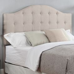 Container Upholstered Panel Headboard & Reviews | Wayfair
