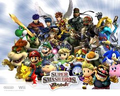 Super Smash Bros Brawl (2008, Nintendo Wii) - I have every character!! ;) this game is the best
