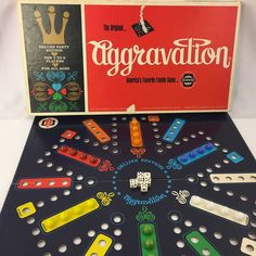 Vintage Aggravation Board Game CO-5 Company Complete USA #CO5
