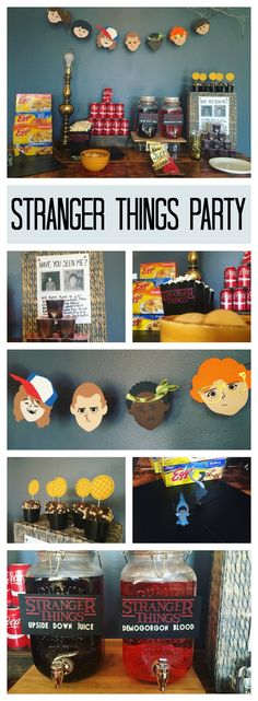 DIY Stranger Things Themed Halloween Party