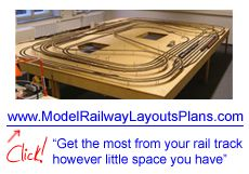 Model railroad layout and scenery.com