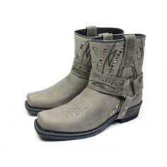 Sendra boots 12178 - grijs #emmenmode