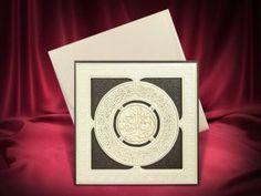 Dualı lüks düğün davetiyesi Wedding Invitations, Symbols, Letters, Style, Ankara, Istanbul, Collection, Swag, Wedding Invitation Cards