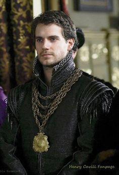 Henry Cavill in The Tudors via the Henry Cavill Fanpage on FB :-)