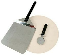 3 Piece Pizza Stone Kit - contemporary - specialty cookware - HPP Enterprises