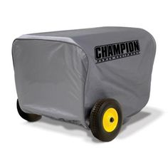 Champion Power Equipment Generator Cover at Lowe's. The Champion Power Equipment weather-resistant storage cover is designed to fit your 4800 to watt generator to keep it safe, clean and dry. Dual Fuel Generator, Portable Generator, Power Generator, Thing 1, Tractor Supplies, Cover Gray, Vinyl Cover, Champion, Baby Strollers