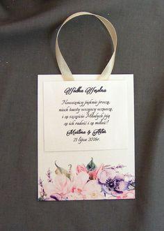 Zawieszki na alkohol perłowe z kwiatami
