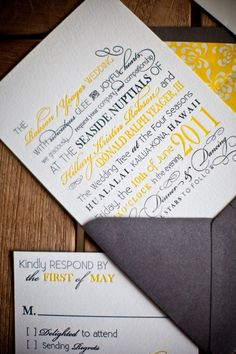 invitation - probably what ours will look like :)