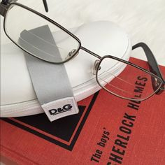 DOLCE & GABBANA Designer Eyeglass Frames & Case. Black Dolce & Gabanna prescription eyeglass frames. STUNNING on!! My loss-your gain. Prescription lenses will need to be removed. Worn once. No Trades. TB1088. Dolce & Gabbana Accessories Glasses