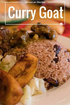 Who wants oxtail & curry goat for dinner? Curry goat recipe in Jamaica . Jamaican Curry Goat, Jamaican Cuisine, Jamaican Dishes, Jamaican Recipes, Curry Recipes, Jamaican Oxtail, Jamaican Chicken, Goat Recipes, Indian Food Recipes