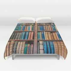 Antique first edition book Collection Duvet Cover by Moonlake Designs - $99.00
