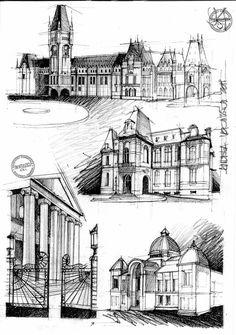 Architecture Romania 19th c. by dedeyutza