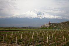 Khor Virap Monastery and Ararat