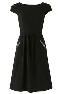 People Tree | Tanya Flower Embroidered Dress