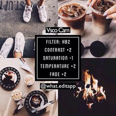 Editing is the hardest part of an Instagram post, but Vsco Cam is the perfect App to help! Check it out! I love the way these four photo's are edited!