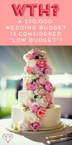 "I couldn't believe that $20,000 was considered ""low budget"" for a wedding! Can you? If you're planning a wedding, you might be in for a similar rude awakening. Here's how I dealt with it, as I was determined to keep to my budget."