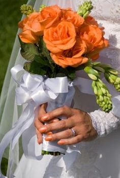 Orange and Green Wedding Color Scheme — Nirvana Photography Studios