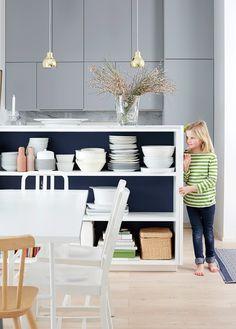 kitchen decoration and styling Anna-Kaisa Melvas, photo Anna Huovinen Beautiful Kitchens, Cool Kitchens, Kitchen Decor, Anna, Decoration, Home Decor, Style, Decor, Swag