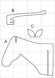 Resultado de imagen para descarga plantillas de cabezas de animales
