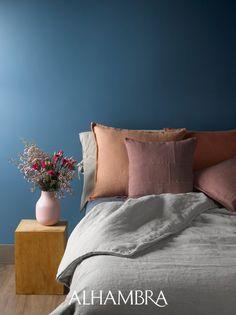 Teal Color Schemes, Teal Colors, Vivid Colors, Colours, Floral Print Design, Showroom Design, Warm Grey, Fabulous Fabrics, Soft Furnishings