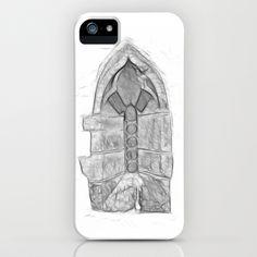 Medieval Church Window iPhone Case by Rainer Steinke - $35.00 church window drawing pencil bleistift zeichnung fenster kirche mittelalter medieval #church #window #drawing #pencil #bleistift #zeichnung #fenster #kirche #mittelalter #medieval